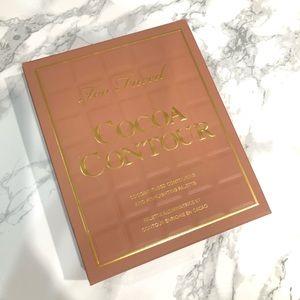 NIB Too Faced Cocoa Contour palette